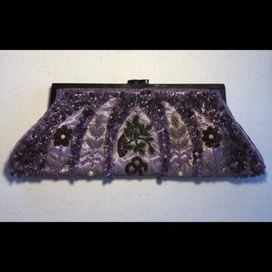 Vintage Beaded Clutch Purse